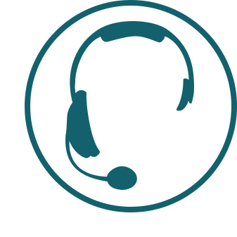 large agent headset icon